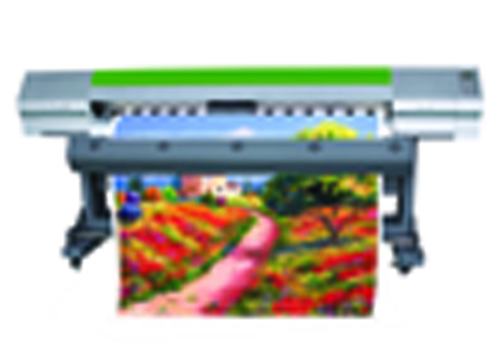 湖北墙纸喷绘机,广告,弱溶剂压电写真机