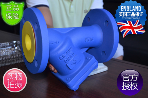 FST铸钢法兰过滤器-英国FST弗里斯通Y型过滤器