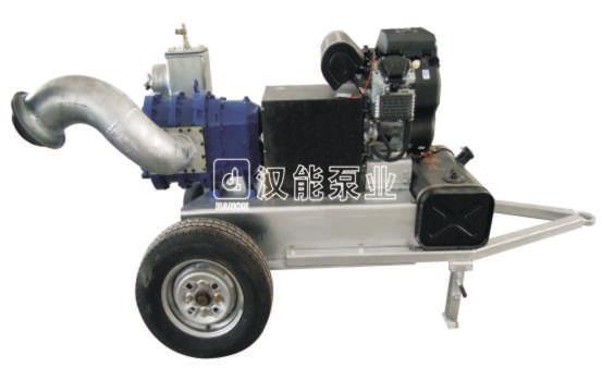 拖车式凸轮排水泵车