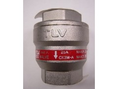 日本TLV不锈钢止回阀CK3M