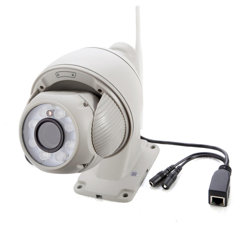 室外防水tf插卡百万网络高清球型摄像机