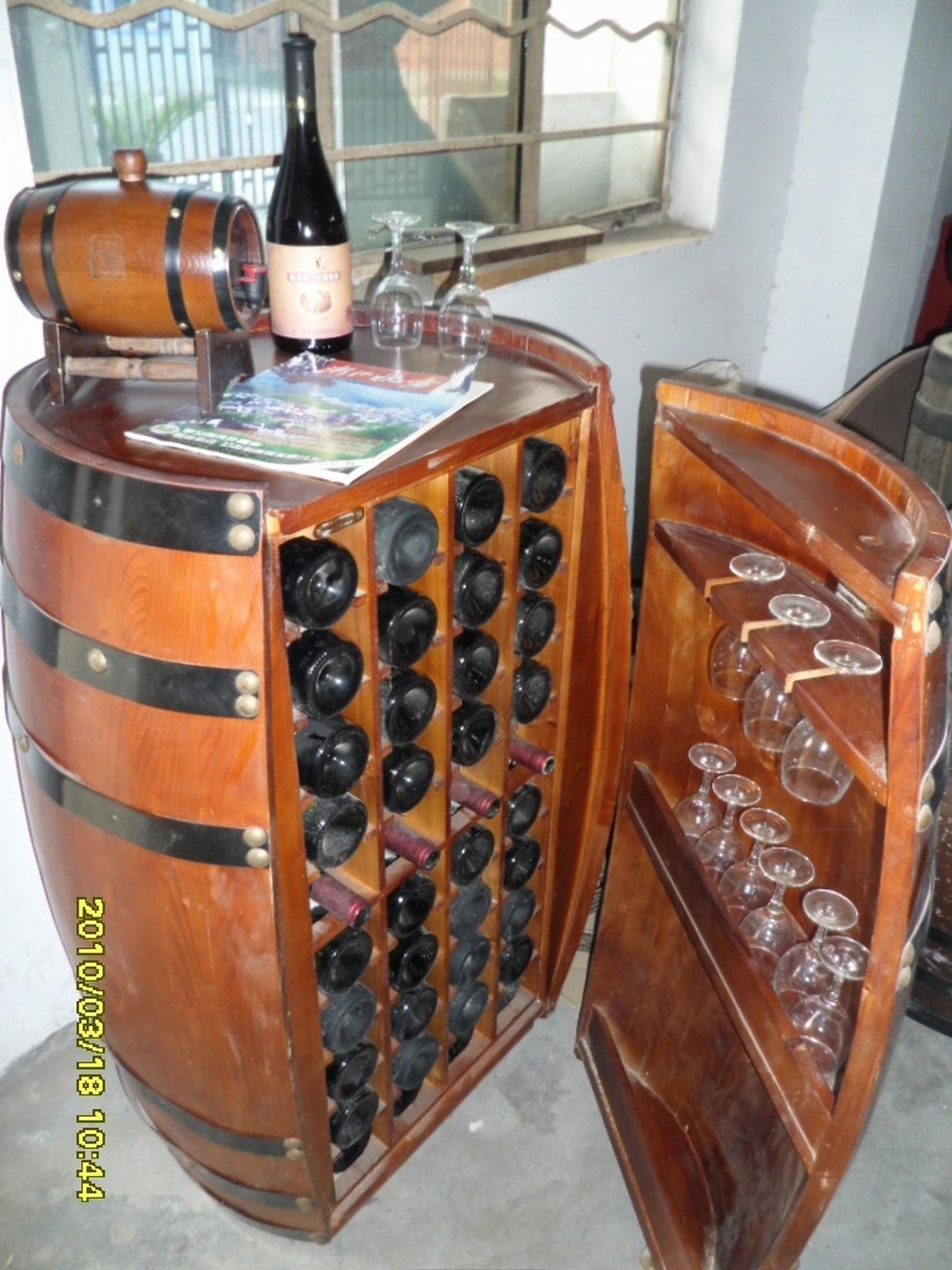 橡木桶酒柜
