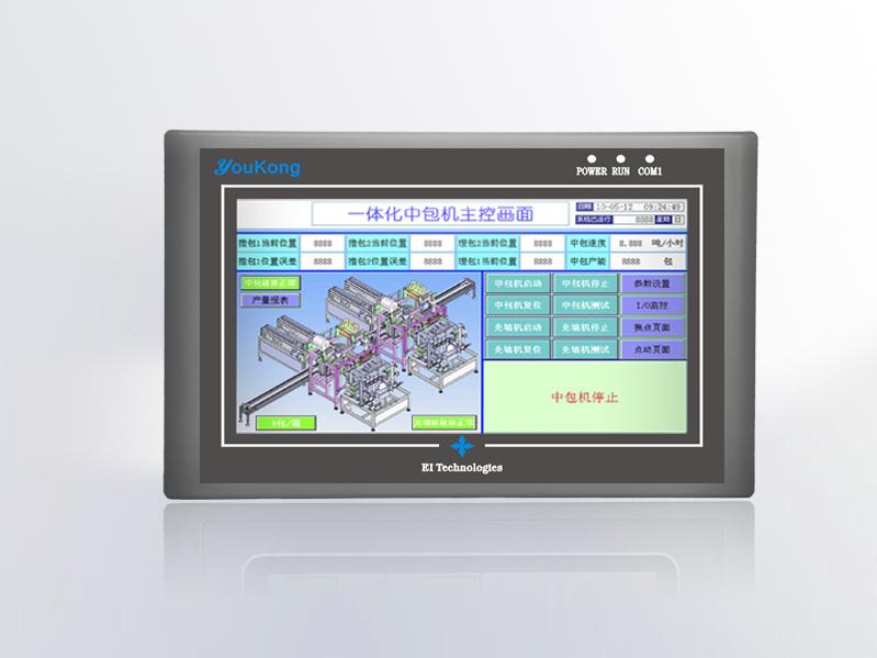 优控彩色文本MD204LV8可替代TP200系列文本