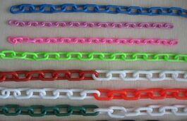 彩色塑料链子