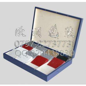 欧顶供应石英石样品盒 石材手提样板盒