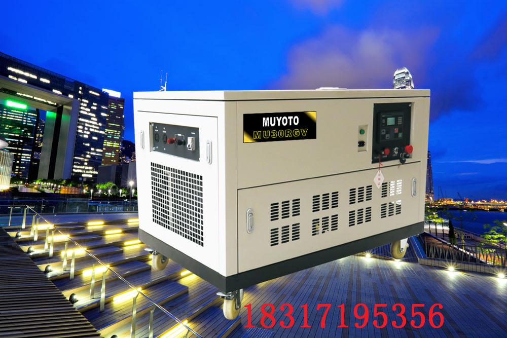 10KW永磁静音汽油发电机组