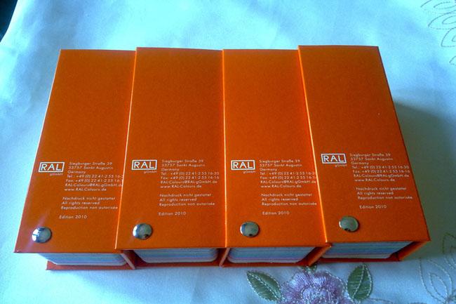 RAL色卡劳尔色卡欧标色卡油漆色卡-新版K7K5
