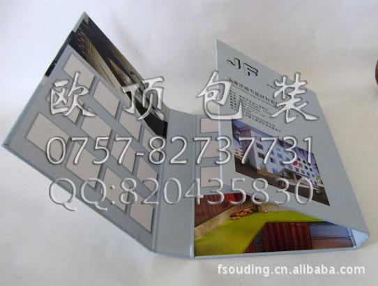 欧顶供应门窗样品盒 陶瓷样品册标杆价格