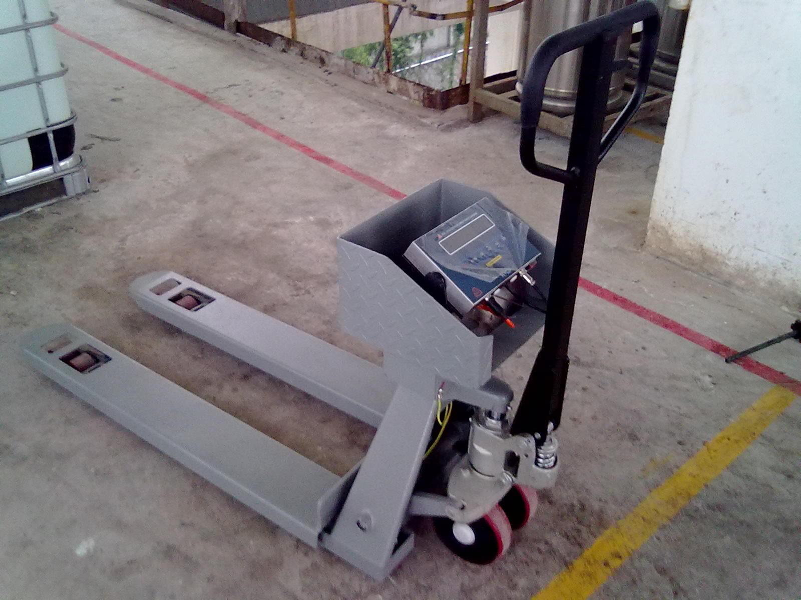 松江区1吨2吨3吨防爆手动液压叉车秤