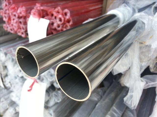 304不锈钢镜面圆管38*0.6-2.7厂家现货直销