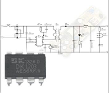 dk1203充电器电路图