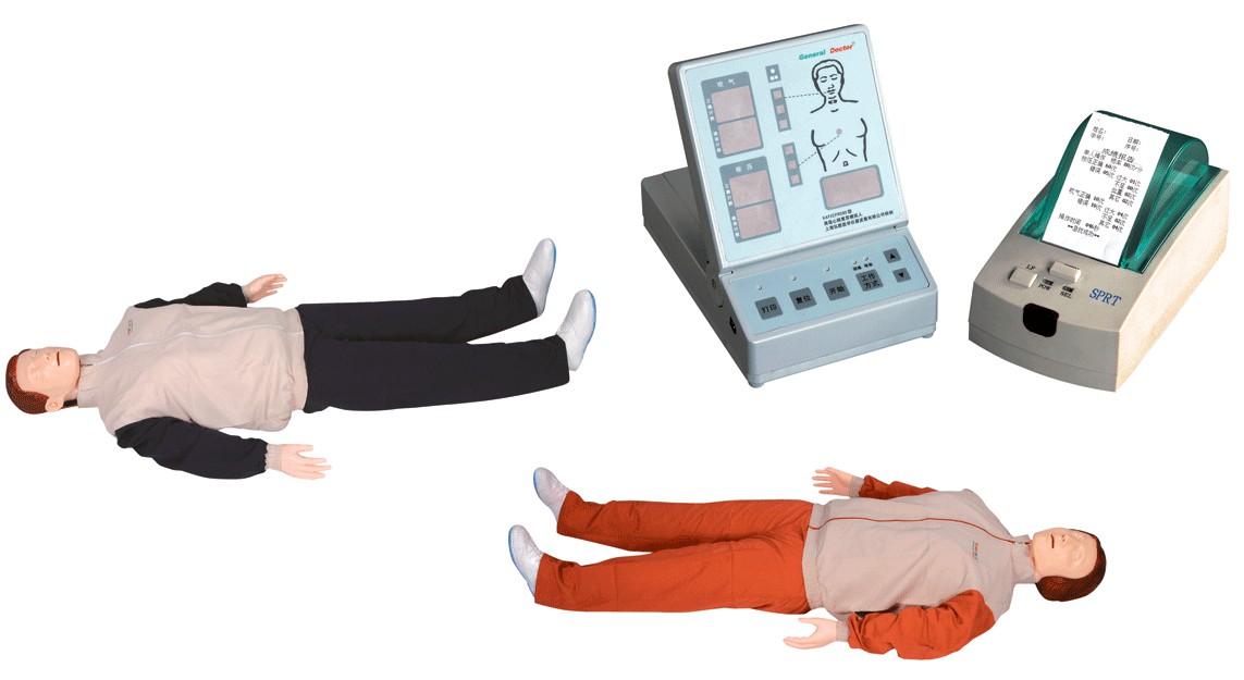 GD/CPR280S高级自动心肺复苏模拟人
