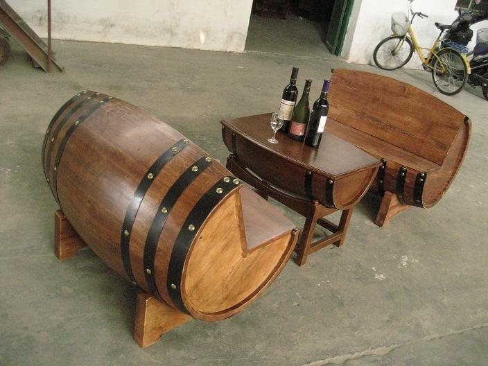 橡木桶沙发_竹,木制品