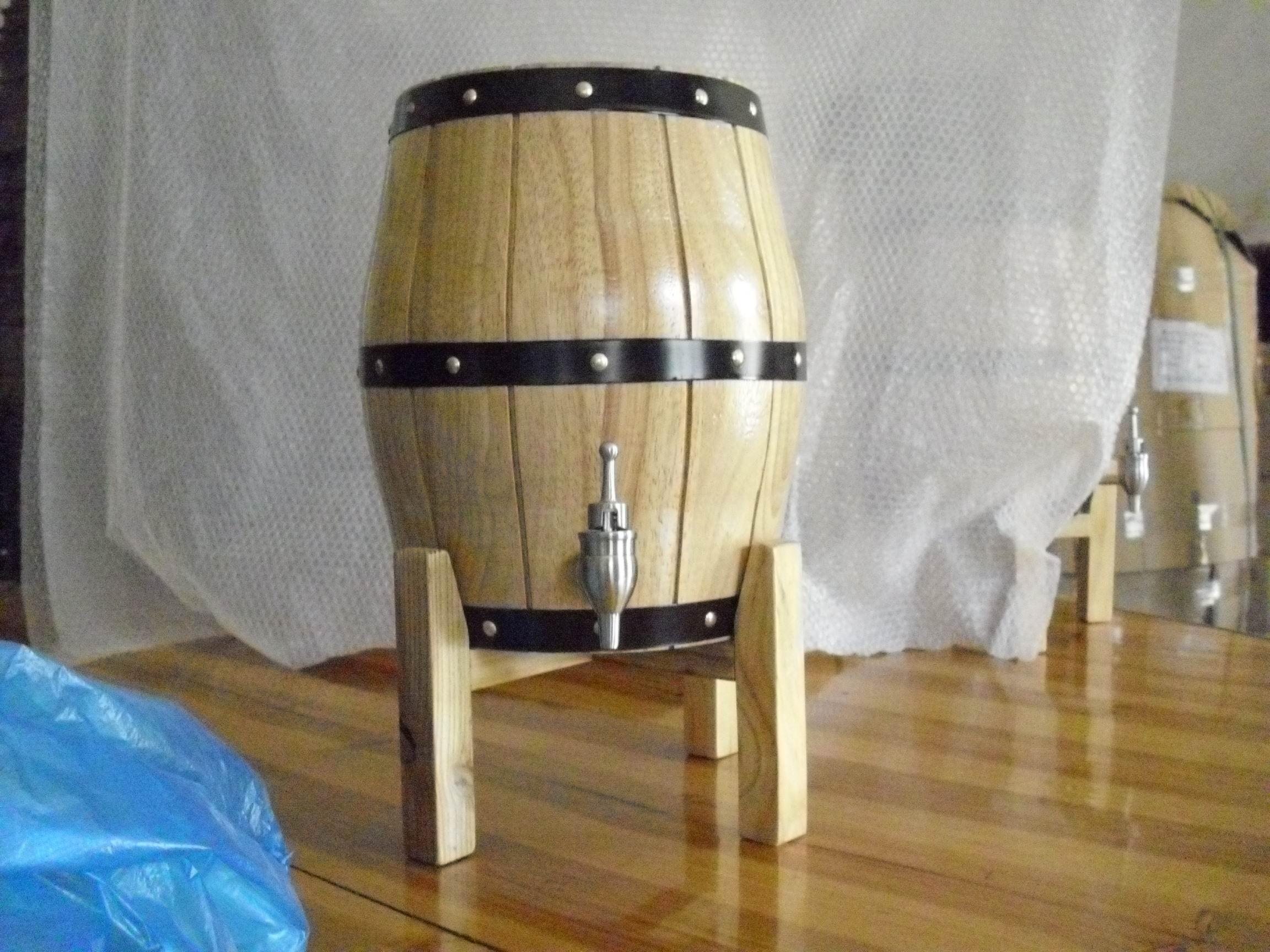 3L开盖啤酒桶