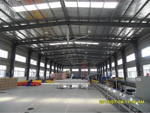 AIPU7.2米大型工业吊扇,大型风扇