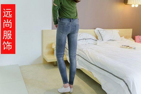 外贸整款低价格牛仔裤的地方在远尚批发工厂