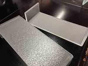 供应喷砂U型玻璃