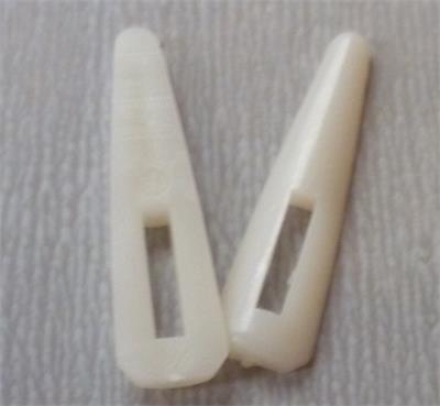 3.2公分塑料骨签塑料别子象牙扣盒子配件