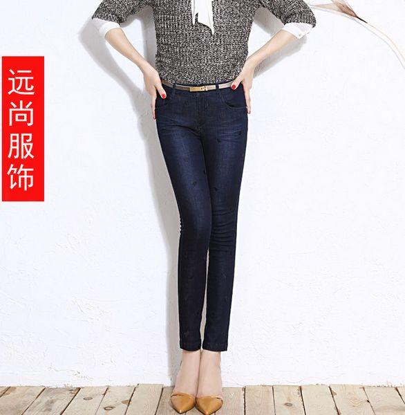 批发新款牛仔裤款式新颖低价批发牛仔裤远尚