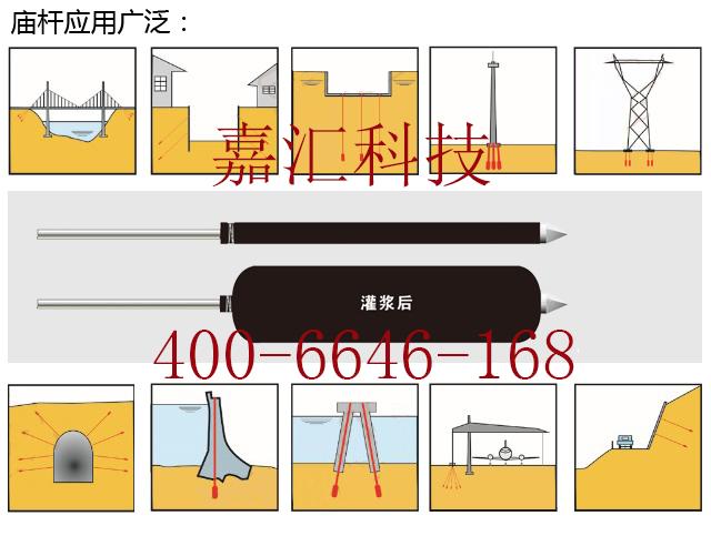 承压型扩体锚杆基坑专用扩大头锚杆嘉汇专利