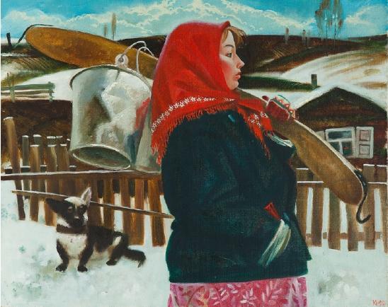 价格合理的纪念写生画,苏联写生画收藏集