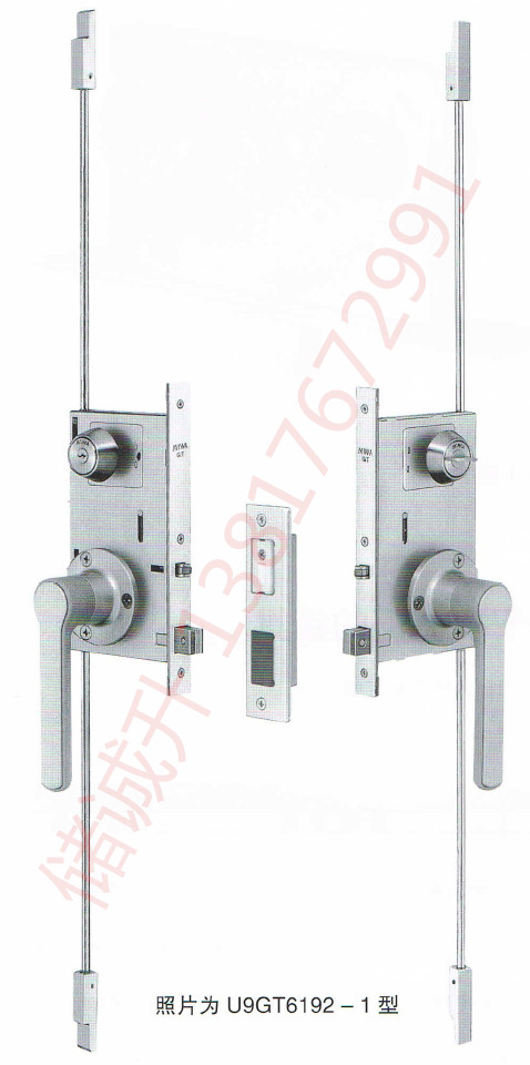 日本MIWA门锁GT60型长插销静音锁