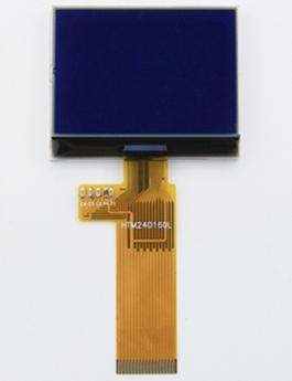 小尺寸高分辨率240160点阵COG显示屏