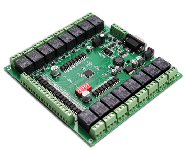 16路开关量采集模块DAM1616USB版