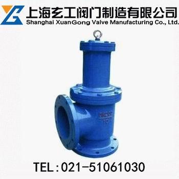 上海玄工JM744X液动角式快开排泥阀