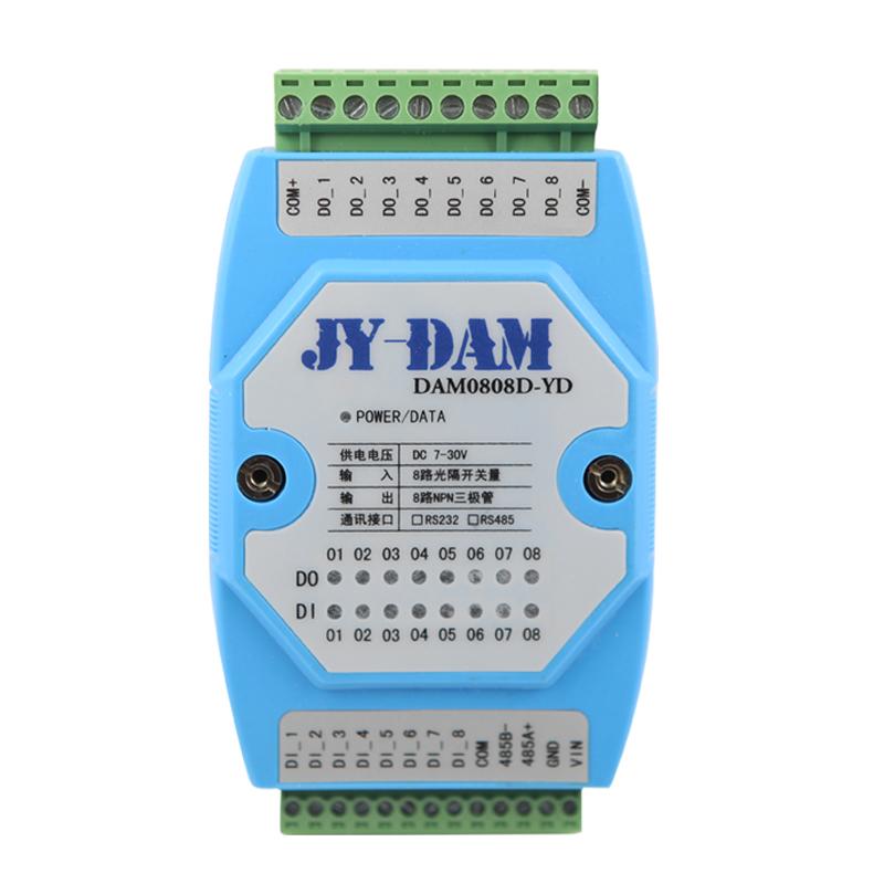 4路开关量采集模块DAM0404-YD